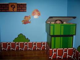 Mario Bedroom Storage Hamper Made To Look Like Mario Warp Pipe Boys Mario