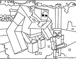 Minecraft Color Page Coloring Sheet Coloring Pages For Coloring