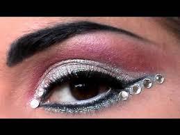 crystal eyesed makeup tutorial at video agaclip