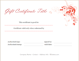 christmas certificates templates holiday gift certificate template floral design dotxes