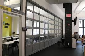garage rollup doors conference room wall divider glass garage door roll up garage doors canada