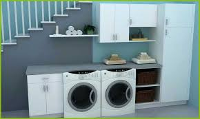 kitchen cabinet for washing machine inspirational laundry room great design under staircase decoration ikea