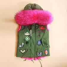 Jakia Pink Fur Hoodie Army Green Parka Jacket Jakia Pink Fur Hoodie Army canada  goose freestyle ...