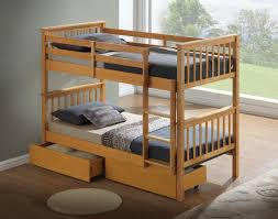 artisan hudson wooden bunk bed beech