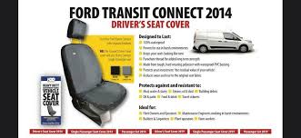 ford transit connect 14 black tailored