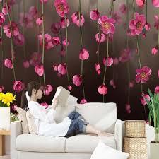 3d Japanse Behang Kersenbloesem Foto Muurschilderingen Mooie Bloem