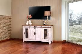 full size of greenview sliding door distressed white tv stand 80 inch sliding barn door tv