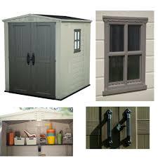 Lockable Bedroom Furniture Outdoor Storage Garden Shed Waterproof Lockable Sheds Resin Steel