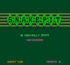 Image result for snake pit arcade game