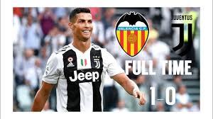 Juventus vs Valencia (1-0) All goals & best highlights - YouTube