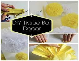 How To Make Tissue Paper Balls Decorations DIY Room Decor Tissue Ball YouTube 60