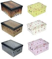 Cardboard Storage Box Decorative cardboard decorative storage boxes probeta 6