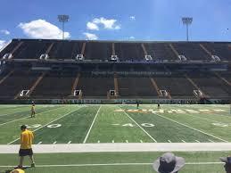 M M Roberts Stadium Interactive Seating Chart