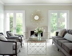 living room with mirrored furniture. Image Of: Mirrored Coffee Table Contemporary Living Room With Furniture T