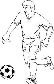 Soccer Coloring Pictures Fancy Cloudjuno