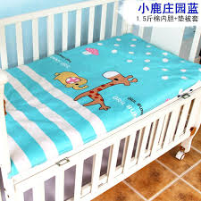 soft crib mattress cotton baby bed 4 protector cushion in bedding sets from mother toddler