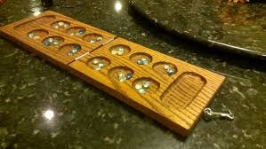Wooden Game With Marbles Building a Mancala Game Board Out of Wood YouTube 72