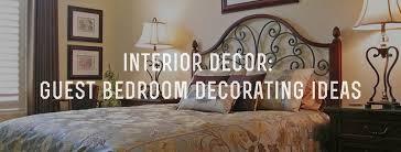 Interior Decor Guest Bedroom Decorating Ideas Gentleman's Gazette Adorable Bedroom Room Decorating Ideas