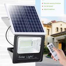 Solar Powered Flood Lights Outdoor Amazon Com Yu2d 60w Waterproof Solar Powered