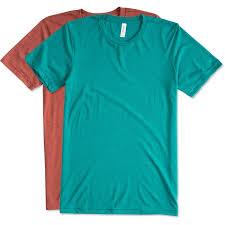 Bella T Shirts Color Chart Custom Bella Canvas Tri Blend T Shirt Design Short