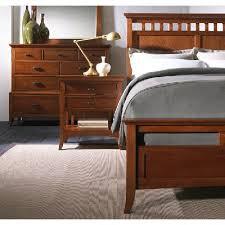 modern shaker bedroom cherry bedroom