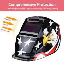 Welding Helmet Designs Solar Powered Auto Darkening Welding Helmet Black Hawk Grinding Tig Welder Mask
