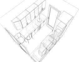 Wonderful Architecture Drawing Png Filesmall Kitchen 2 Perspective Sketchpng On Inspiration Decorating