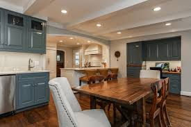 office wet bar. Wet Bar In A Breakfast Room With Built Office Space Adjoining The Kitchen