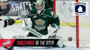 Dustin Wolf Named WHL Goaltender of the Week — Cascadia SN