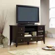 Sauder Tv Cabinet Sauder Shoal Creek Jamocha Wood Tv Stand 409732