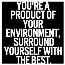 Quotes About Who You Surround Yourself With Best Of You're A Product Of Your Environment Surround Yoursel Flickr