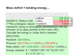binding energy a picture of the reaction 2 1 h 2n 4 he