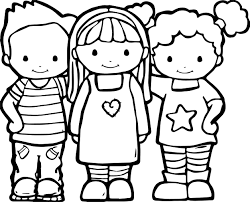 Small Picture Best Friends Color Coloring Pages Wecoloringpage