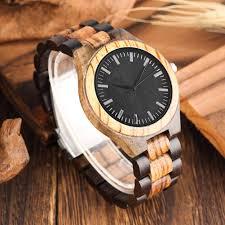 minimalise wooden wrist watches for men fashion og quartz wood watch for man zebra with black sandalwood wood bangle watches watches watches