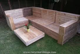 wood pallet patio furniture. Contemporary Furniture Patio Furniture From Pallet Wood Recycled Things Intended For  Outdoor Inside