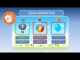 Juegos educativos para ninos de 3 a 5 anos. Juego Interactivo En Powerpoint Youtube