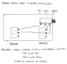 schematics for fender ii series rivera era solid state amps wiring diagram for stage lead footswitch jpg