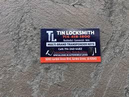 tin locksmiths 10782 garden grove blvd