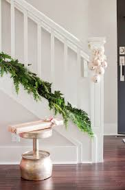 If you have high quality natural garland, you might want to leave it  undecorated.