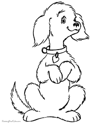 Small Picture Free dog coloring pictures to print 071