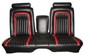 seat covers front bench 1974 75 sport flight