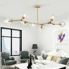 lindsey adelman globe branching bubble chandelier 110v220v nordic modern chandelier light lighting pendent lamp glass ball lamp star pendant light 3 light