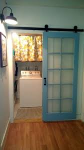 laundry room barn door makeover country utility room