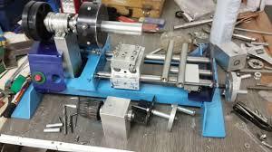 diy mini lathe machine part 2