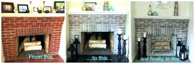 red brick fireplace living room photo of fireplace paint colours