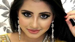 how to do amazing eye makeup for mehndi function