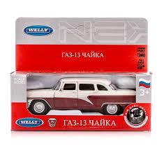 <b>Модель машины Welly</b> GAZ 13 Чайка <b>1:34-39</b>