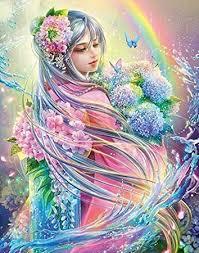 <b>DIY</b> 5D <b>Diamond Painting</b> Set Anime Crystal Embroidery Canvas ...