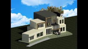 Small Picture Modern House Modeling in Revit Architecture 2017 YouTube