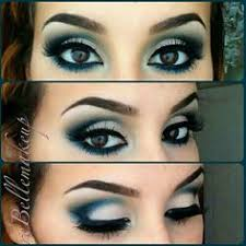 pretty blue and white eye makeup brown eyes maquillaje azul ojos cafés find this pin and more on cool makeup ideas